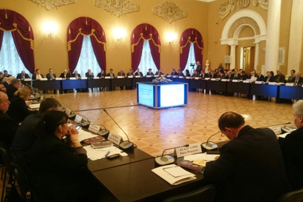 Презентация МАСТ на Всероссийском съезде ректоров