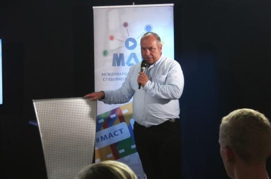 Мастер-класс Олега Дмитриева «Как рассказать историю в мультимедийном мире»