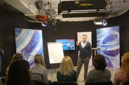 Мастер-класс Александра Яковлева «Индустрия медиа сегодня»
